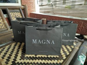 Shopping Bag Hitam Kertas Kraft Coklat