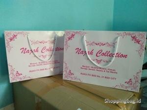 Tempat Cetak Shopping Bag Kertas Murah Custom Design