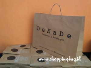 Jual Shopping Bag untuk Jinjingan Butik
