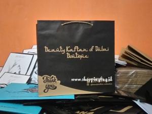 Pesan Paper Bag Coklat