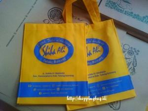 Buat Kantong Belanja Shopping bag dengan Brand Sendiri