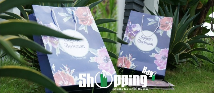 Jasa Custom Shopping Bag | Paper Bag | Goodie Bag Murah